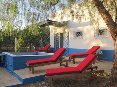 Photo for Quinta do Monte 2 km from Moncarapacho - private villa with pool 4-8 per