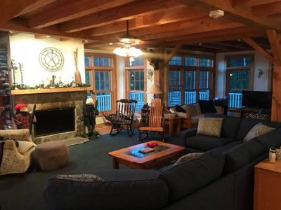 Post and Beam-Great for a Family/Ski Get-A-Way!