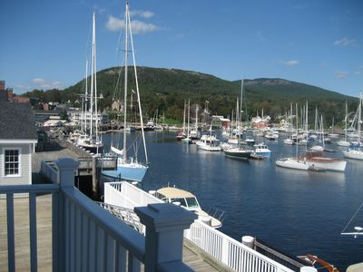 Photo for Harbor's Nest Apartment ~Over Looking Beautiful Camden Harbor!