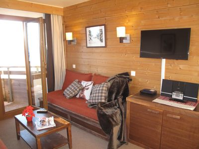 Photo for The 10th floor of the beautiful SASKIA Residence in Avoriaz