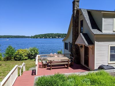 Photo for GIL65W - Great Winnipesaukee Waterfront Family Cottage