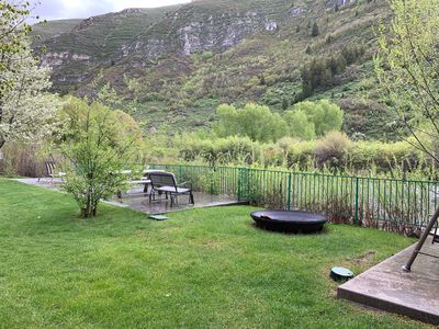 Photo for Two 2 bed 1 bath Cabins on the Provo River