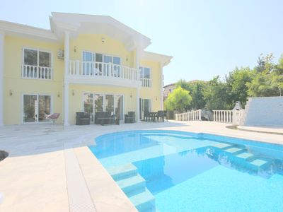 Photo for A beautiful Luxury Detached Villa, Large Private Pool & Grounds in Quiet Area