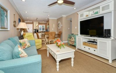 Photo for Luxurious Living by Siesta Beach in this renovated 2b/1b ground floor unit with custom decorations