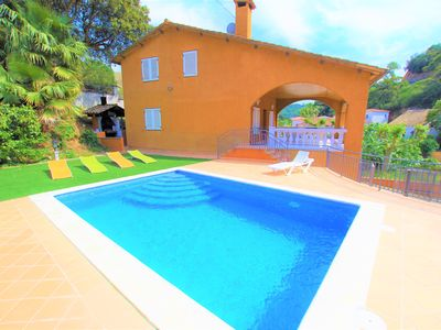 Photo for Vacances & Villas Lloret - VILLA CANYELLES à 800m. from the beach Cala Canyelles