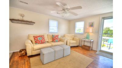 Photo for Absolutely Charming 3 BR Cottage-Pet Friendly-Close to the BEACH-Sleeps 8