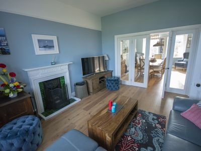 Photo for Beautiful Four Bedroom Holiday Home with Stunning Sea Views!
