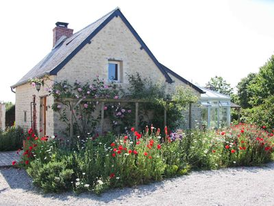 Photo for Picture book 400 year old cottage in heart of Normandy D Day Landing Beaches.