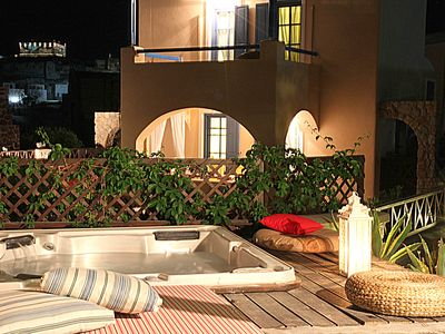 Photo for Villa Athena with 2 Jacuzzi's Santorini