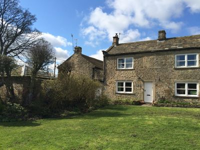 Photo for A cosy dog friendly cottage with log burning stove in the village of Romaldkirk.