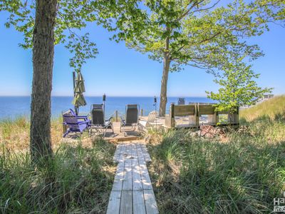 Photo for Serenity on the Lake is a great cottage with 120 ft beach and grand vistas.