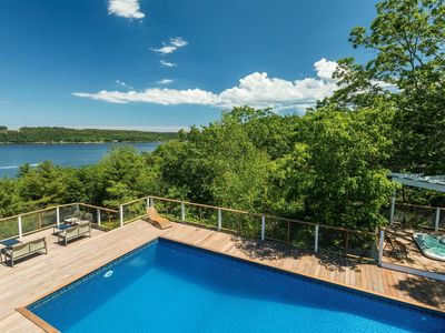 Photo for This vacation home has a pool, hot tub, and can sleep up to 14 people.
