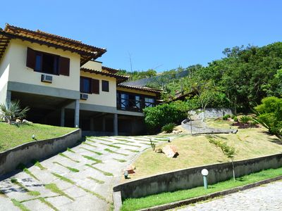 Photo for HOUSE 5 QTOS (4 SUITES), SEA VIEW, SWIMMING POOL, SAUNA, PRIVATE BARBECUE, WI-FI