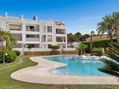 Photo for Ground floor apartment with prime location in Moraira
