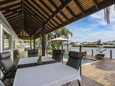 Photo for Prestige Canal Property Open Directly to the Pumicestone Passage!