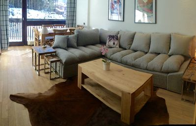 Photo for Sun Valley - South facing Chamonix apartment with stunning views.