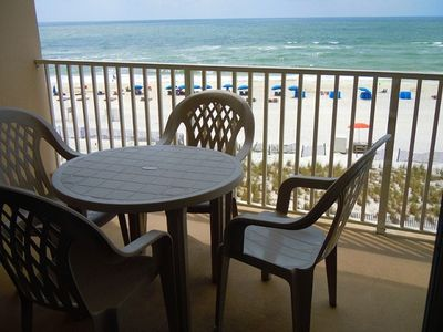 Photo for Orange Beach - Gulf Front Condo GREAT View of Beach