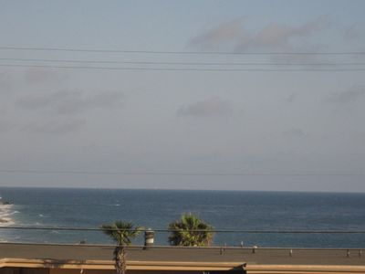 Pacific ocean from balcony