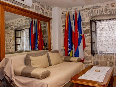 Private double room in the Old Town in Kotor