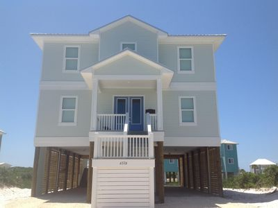 Photo for STUNNING Beachview 5 bedroom w/ community pools and tennis!
