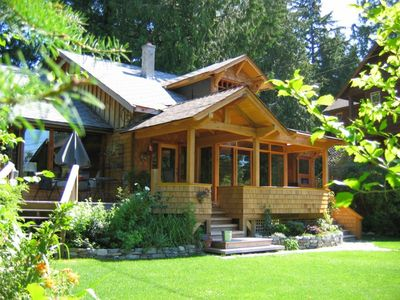 Photo for 3BR House Vacation Rental in Roberts Creek, BC