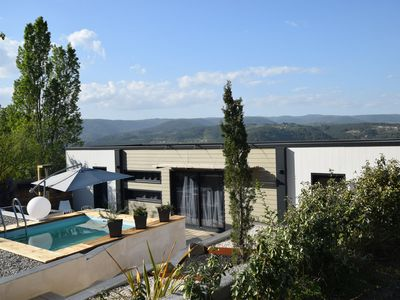 Photo for Brand new, modern villa, beautifully situated with private pool