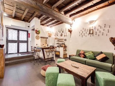 Photo for Ancient Soap Factory - Rome by feet experience GREAT Location FAST WIFI