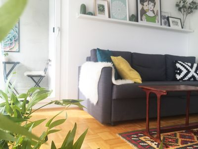 Photo for Stunning apartment - central, sunny and comfortable - with balcony & parking