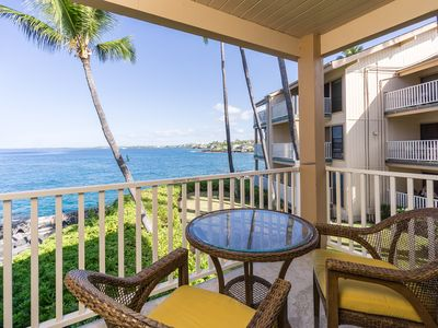 Photo for Delightful Oceanfront Condo w/ Complex Pool & Hot Tub - Family Friendly