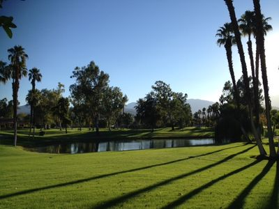 Photo for Private Desert Oasis with Great Mountain, Lake & Sunset Views