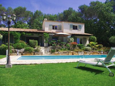 Photo for Villa - Private domain - Large & Heated pool - Valbonne
