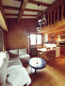 Photo for Family apartment in Megève at the foot of the Jaillet slopes (6 people)