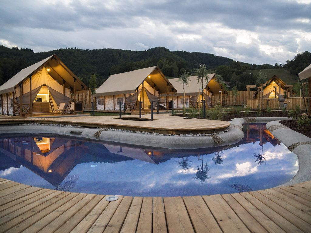 Glamping Olimia Adria Village - Best Glamping 2017 in Slovenia Photo 1