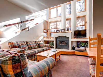 Photo for Incredible 2 Bedroom Townhome with Alpine Decor and Forest Views