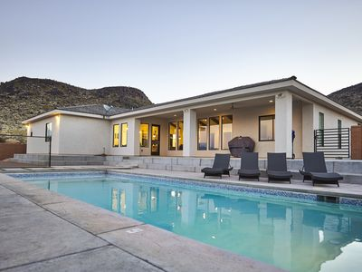 Photo for Modern 4 Bed w/ Pool, Pickleball, Soccer Field Near St. George, Zions & Golfing