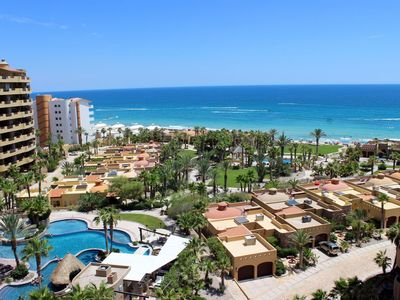 Photo for BELLA SIRENA  BD 703 Cozy Blue Ocean Oasis 1 BR Ocean Front