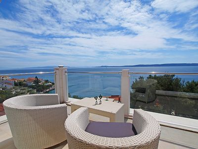 Photo for Apartment Villa Anamarija in Trogir/Okrug Gornji - 4 persons, 1 bedrooms