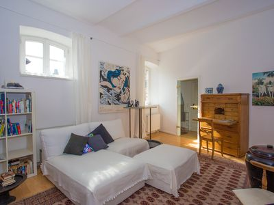 Photo for Cozy apartment in 16th century castle 20 minutes from Cologne