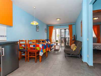 Photo for Lovely Apartment Close to the Beach with Terrace, Garden & Wi-Fi; Parking Available