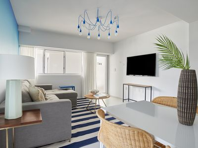 Photo for Sonder | Collins Ave | Sunny 1BR + Outdoor Pool
