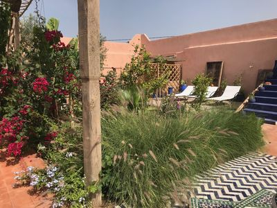 Photo for Berber charming riad in the countryside between Agadir and Taroudant, idyllic patio