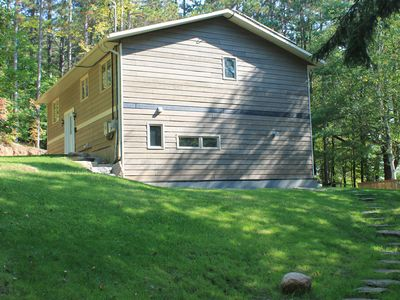 Photo for Black Lake waterfront retreat - Newly renovated open concept