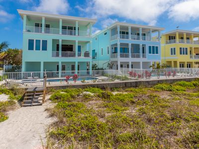 Photo for BRAND NEW CONSTRUCTION - DIRECT BEACH FRONT POOL HOME - 6 BEDROOMS SLEEPS 14