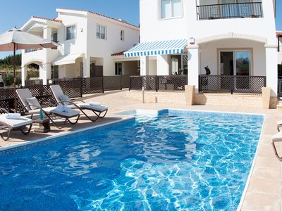 Photo for Villa Crystal - Modern Villa with BBQ and Free Wifi and UK Channels. Only 350 meter from the beach