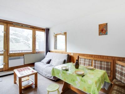 Photo for Apartment La Mongie, studio flat, 4 persons