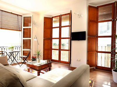 Photo for 1BR Apartment Vacation Rental in Málaga, Málaga