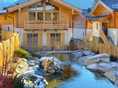 Photo for Chalet am Teich - typical Austrian chalet in an idyllic location, private sauna
