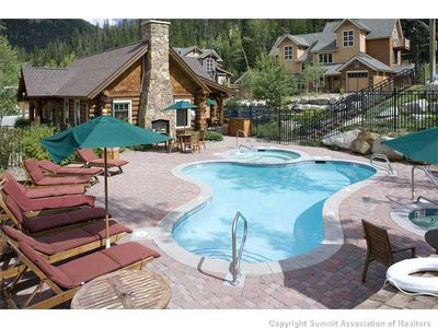 Photo for Steps from Heated Pool, Hot Tubs and Ski Shuttle!