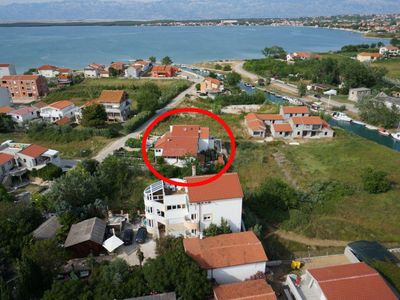 Photo for Studio flat with terrace Nin, Zadar (AS-14460-a)