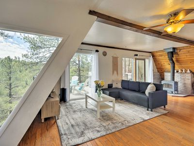 Photo for Chic Flagstaff House w/Mtn Views, Deck & Fire Pit!